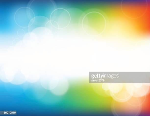 A colorful defocus and blurry background