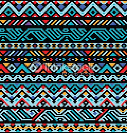 pin aztec colorful seamless - photo #24