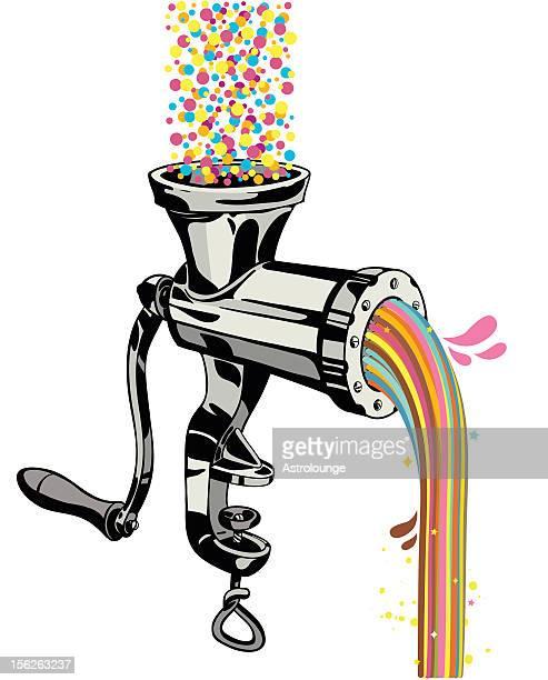 Colorful grinder