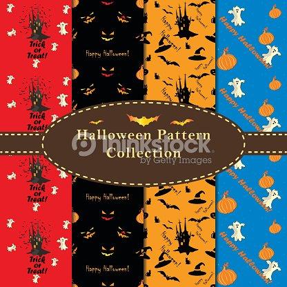 Halloween Disegni Colorati Collezione Arte Vettoriale Thinkstock