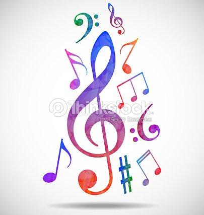 Sfondo colorato musica arte vettoriale thinkstock - Immagini violino a colori ...