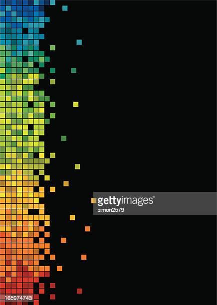 design colorato pixel