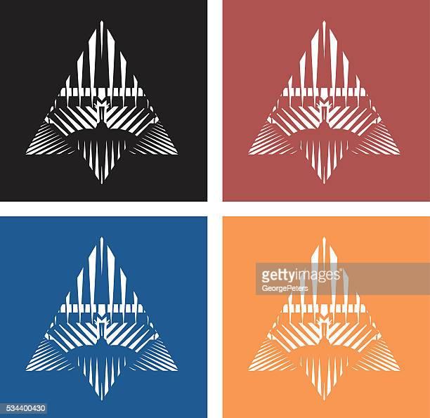 Bunte Technologie Symbol-Set