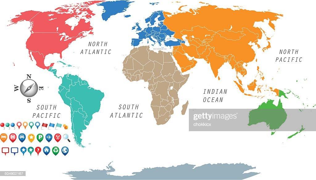 Sieben Kontinente