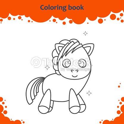 Página De Libro Para Colorear Para Niños Color De Dibujos Animados ...