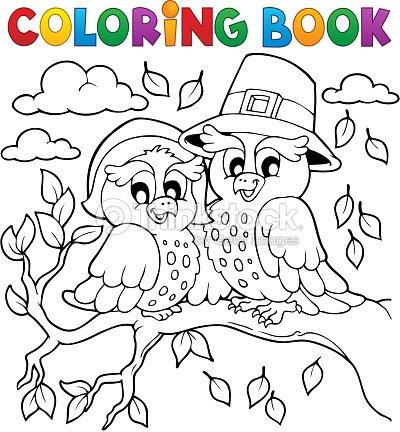 Libro Para Colorear Imagen 5 Del Día De Acción De Gracias Arte ...