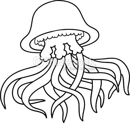 Libro Para Colorear Medusa Arte vectorial | Thinkstock