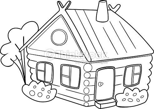 Immagini Casa Da Colorare.Immagini Casa Da Colorare