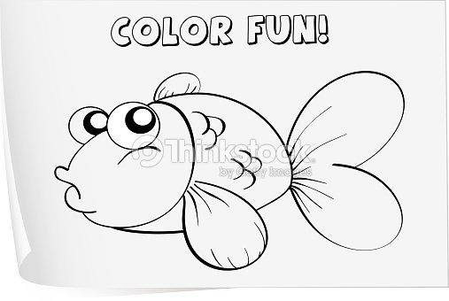 Coloring Worksheet Vector Art | Thinkstock