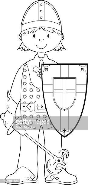 Colour In Medieval Knight