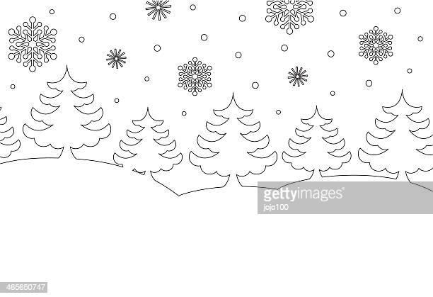 Colour in Winter Scene