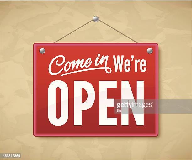 Venez nous sommes ouverts