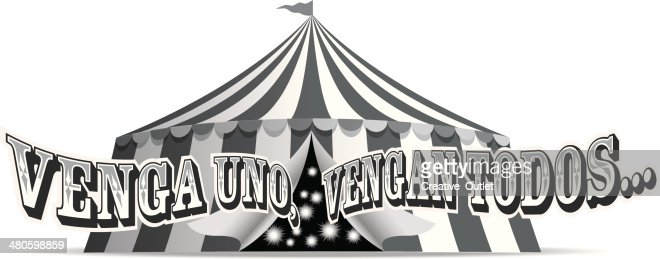 Venga Uno Heading : Vector Art