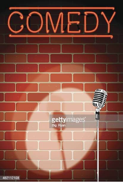 comedy night background
