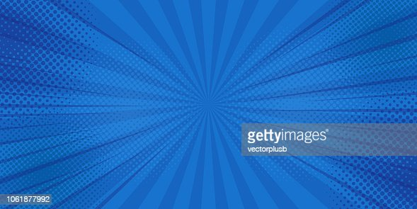Comics rays background with halftones. Vector summer backdrop illustrations : stock vector