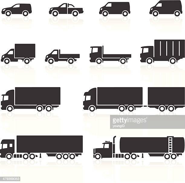 Nutzfahrzeug-Symbole