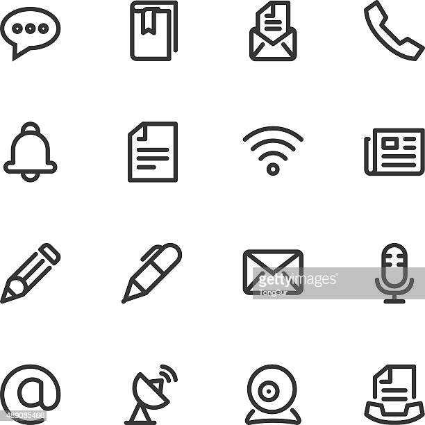 Communication icons - Line