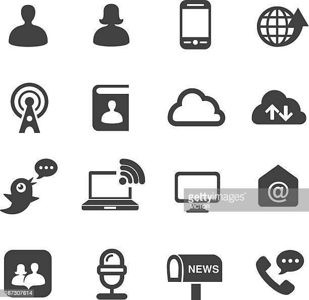 Communication Icons Set 2-Acme Series