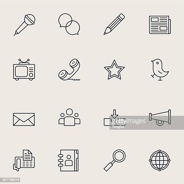 set di icone di comunicazione/4-chiaro