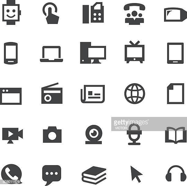 Communication Media Icons - Smart Series