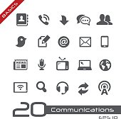 Telecommunications vector icons for your website or presentation.
