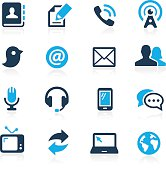 Telecommunications vector icons for your website or presentations.