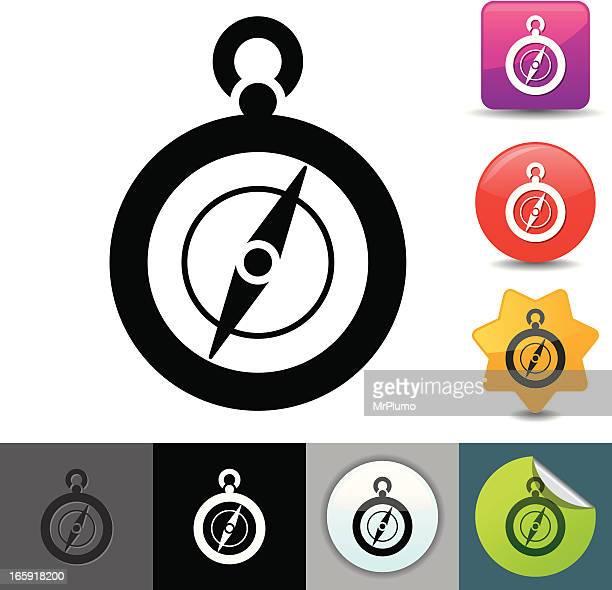 Compass icon | solicosi series