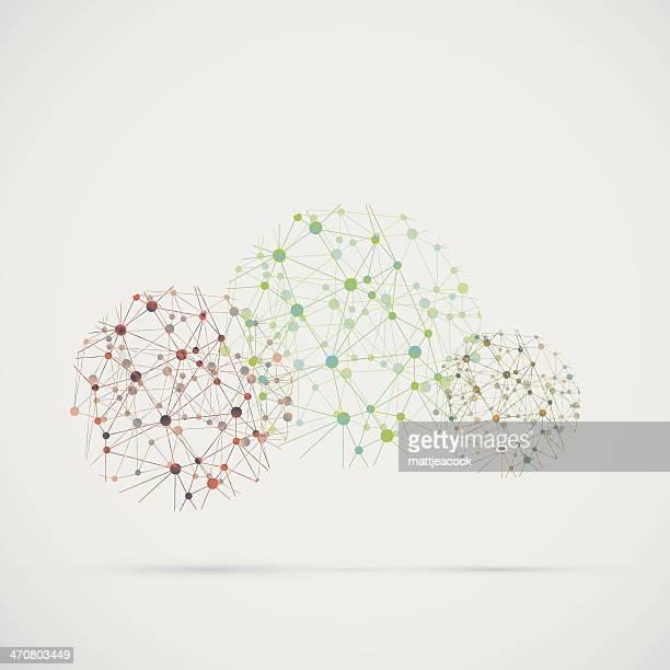 Complex Netzwerk Hintergrund