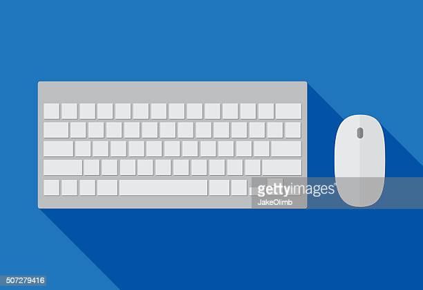 Clavier d'ordinateur et de la souris