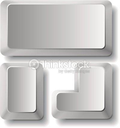 computr keys vector art thinkstock