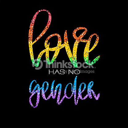 conceptual poster with rainbow lettering vector art thinkstock
