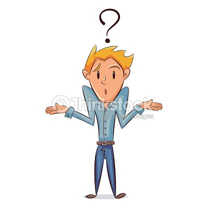 Confused Man Vector Art | Thinkstock