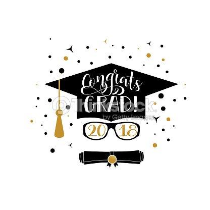 Felicidades Grad 2018 letras. Bandera de egresado de felicitaciones. Cap de  graduación y diploma bdfc4f2c943