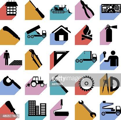 Construction Symbols Vector Art Thinkstock