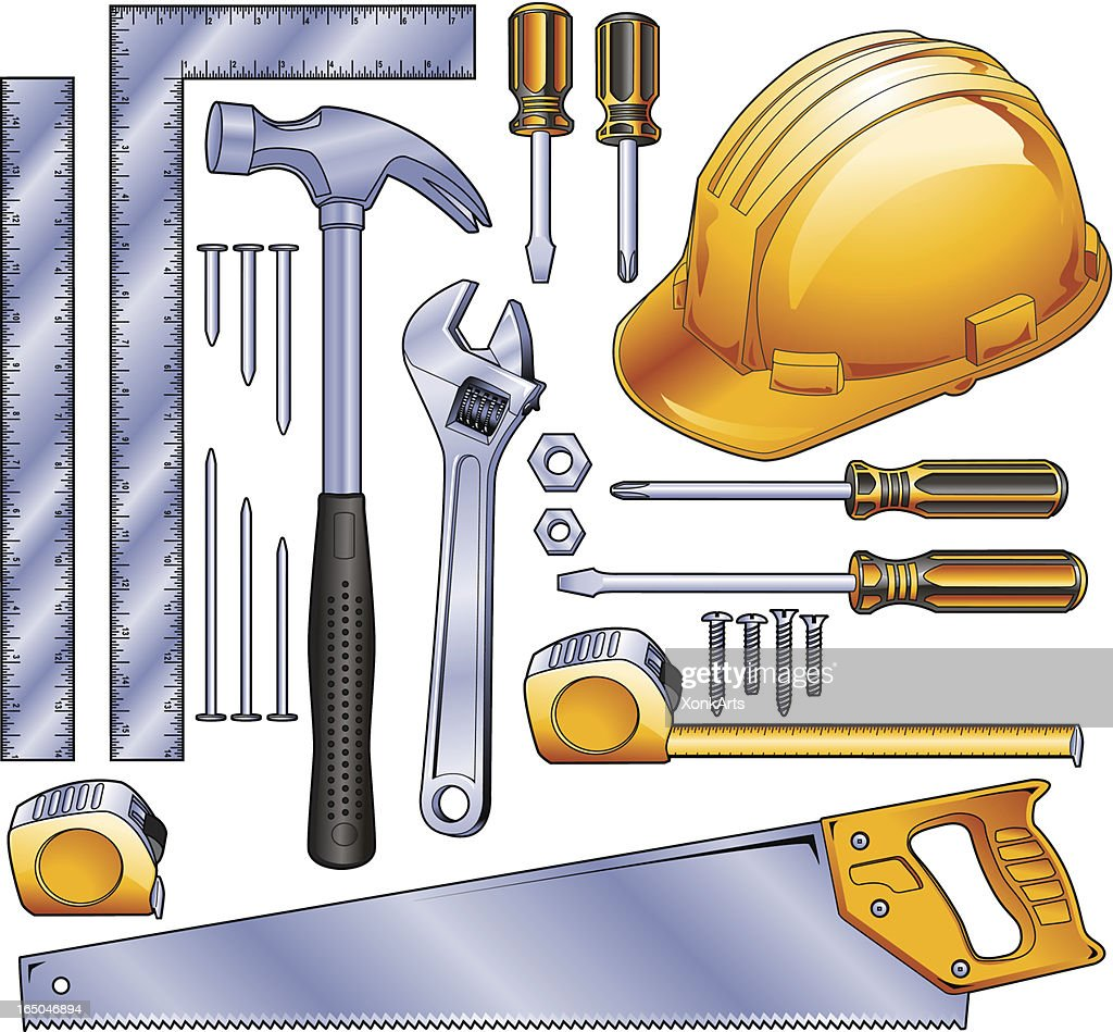 Construction Tools Vector Art | Getty Images