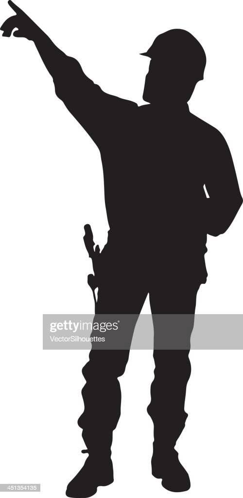 Construction Wo... Construction Sign Silhouette
