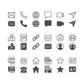 Simple vector Icons. Included normal and enable state. Pixel perfect.
