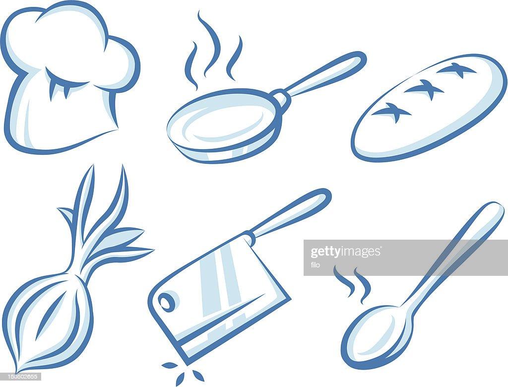 Cooking Elements : Vector Art