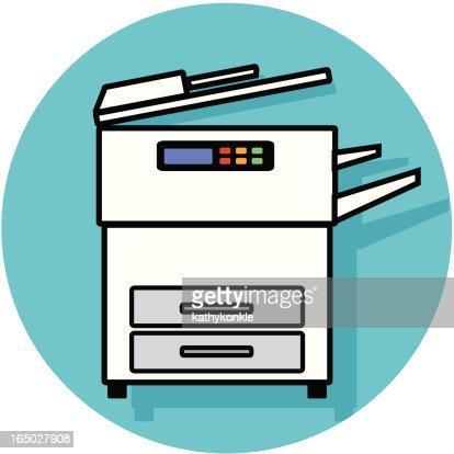 on copy machine