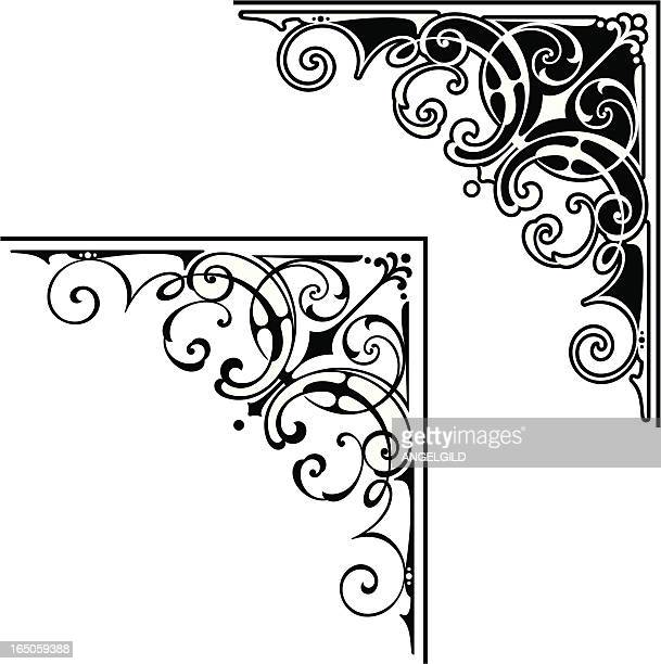 Corner art design