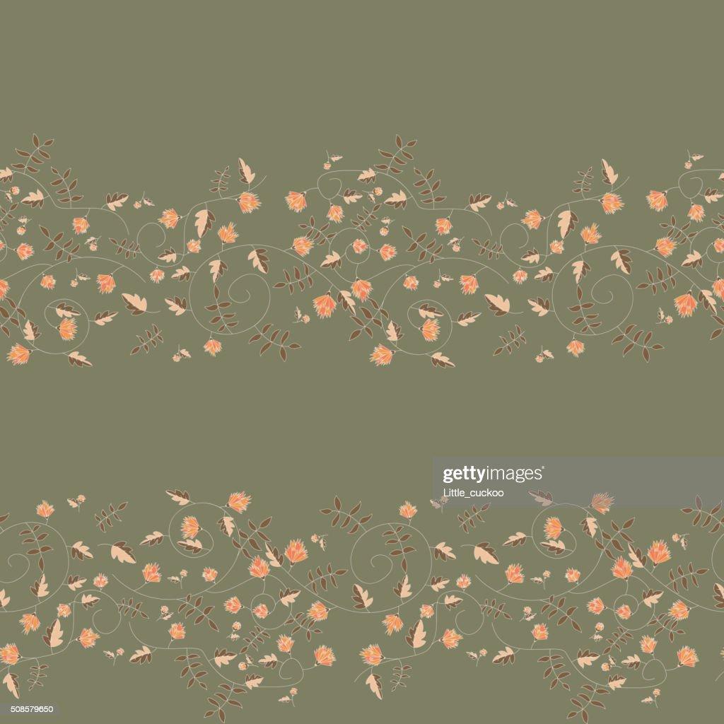 Cornflower pattern. Vector seamless texture : Vector Art