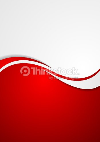 corporate background flyer with waves vector art thinkstock