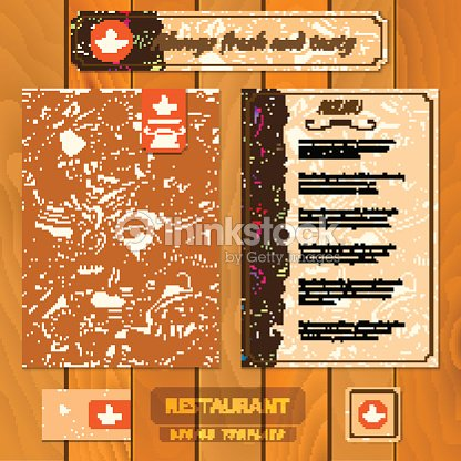 Corporate identity menu and business cards for cafe or restaurant menu and business cards for cafe or restaurant vector art reheart Choice Image