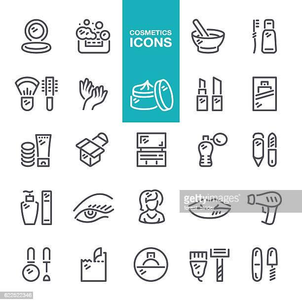Kosmetik Linie icons