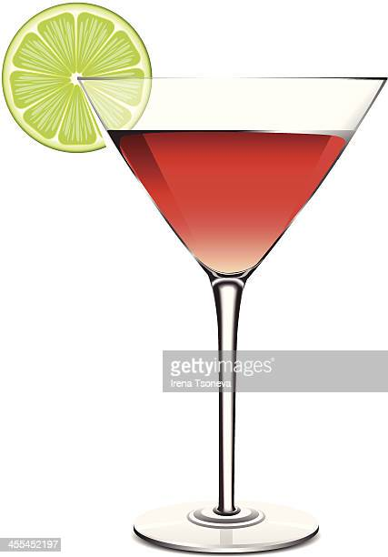 Cosmopolitan with Lime