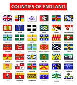 Counties of England Flag Collection