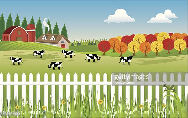 Rural Scene Stock Illustrations And Cartoons | Getty Images