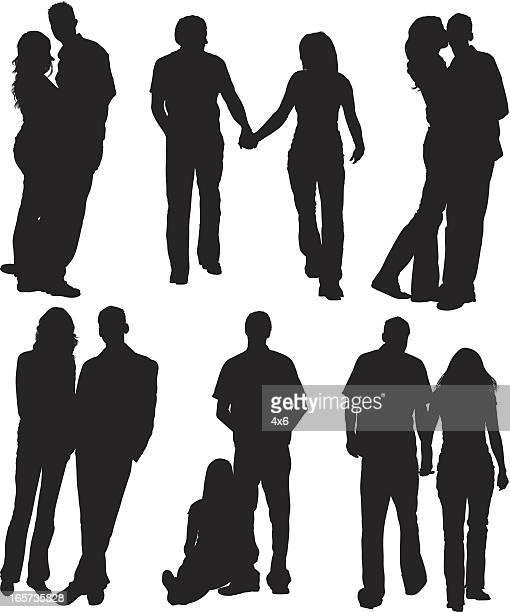 Couple sur la rue