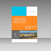 Cover design for Annual Report, Catalog or Magazine, Book or Brochure, Booklet or flyer. Creative vector concept.
