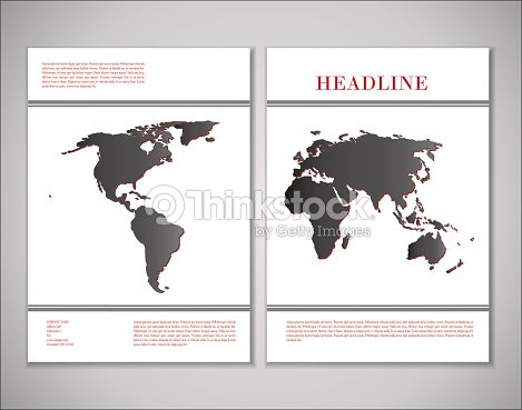 Cover design with world map vector art thinkstock cover design with world map vector art gumiabroncs Choice Image